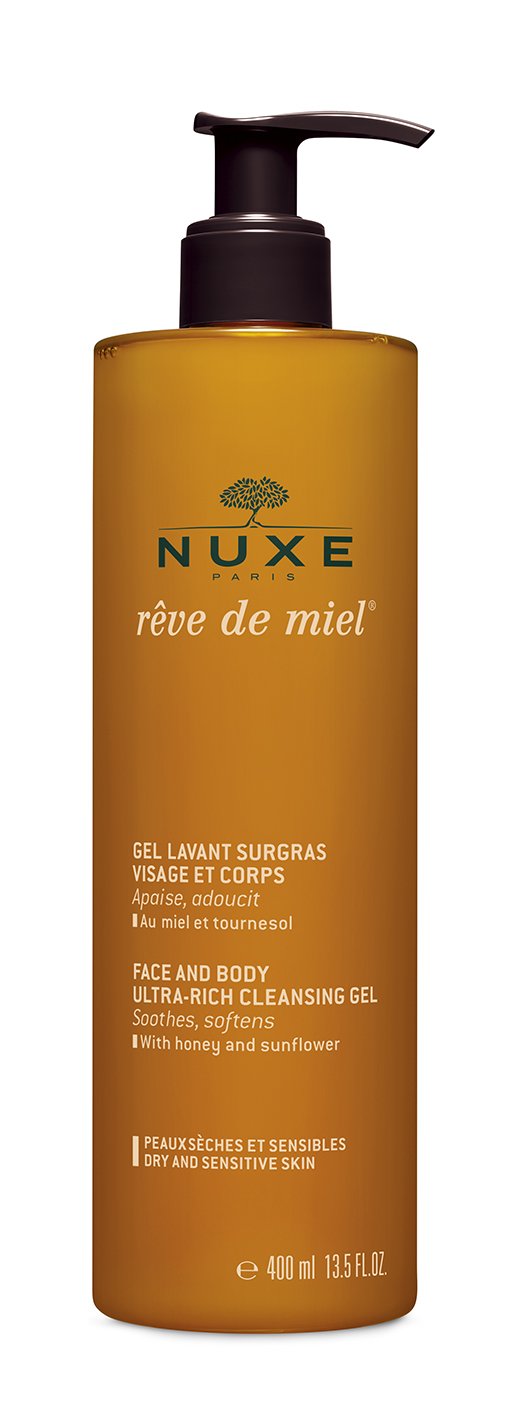 Nuxe Reve de Miel cleansing gel 400 ml
