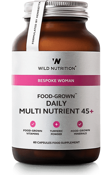 Wild Nutrition Daily multinutrient 45+ 60 caps