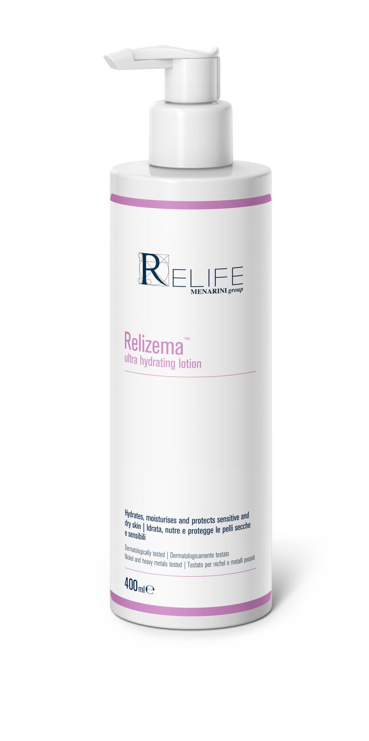 Relizema ultra hydrating lotion 400mls