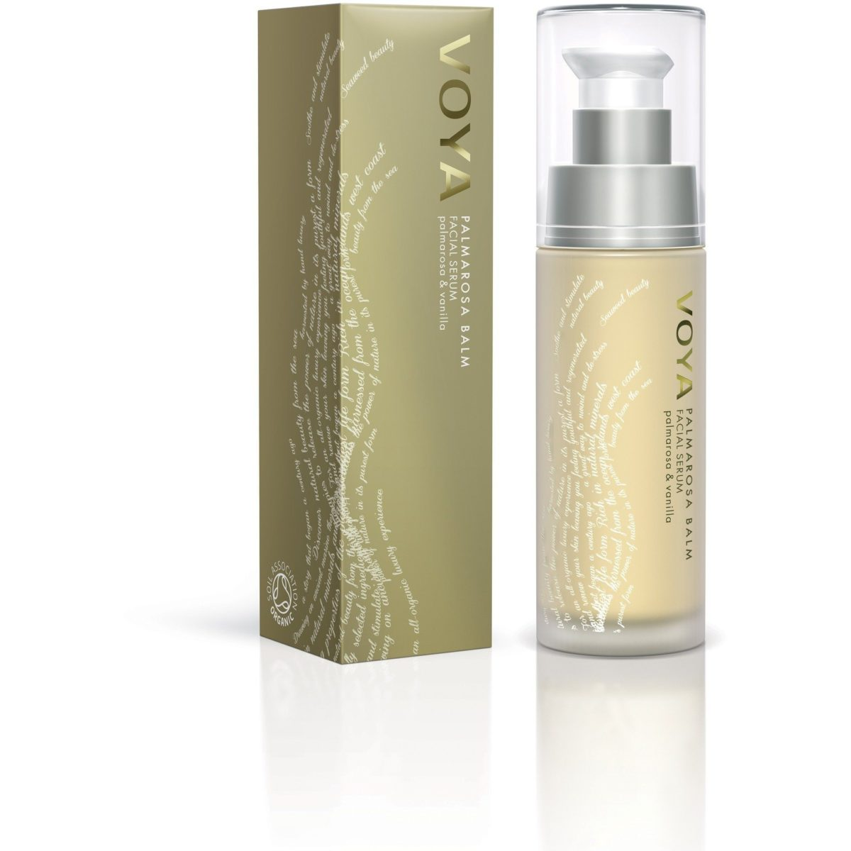 Voya Palmorosa Balm facial serum 30 ml