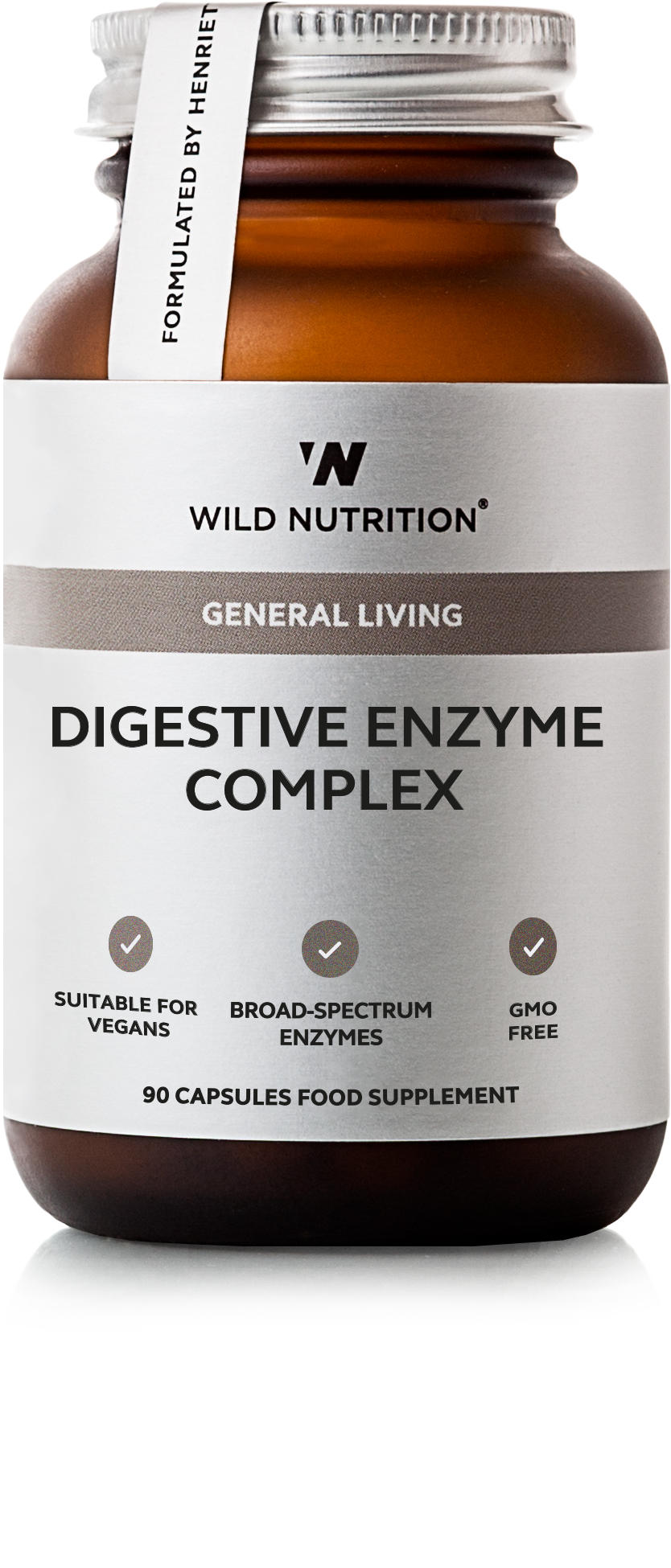 Wild Nutrition Digestive Enzyme Complex 30 caps