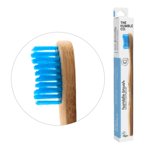 Humble Bamboo toothbrush medium blue
