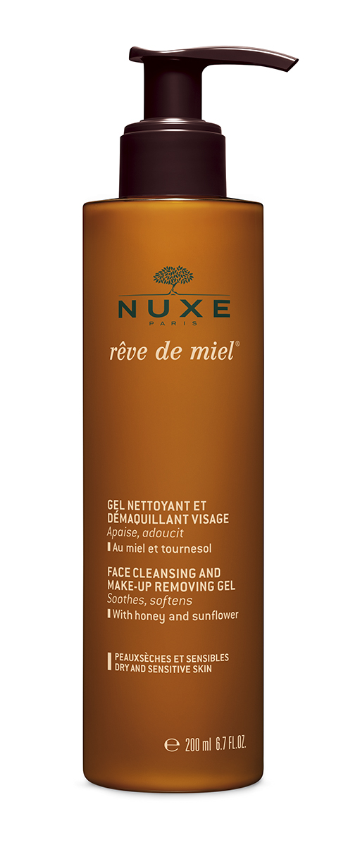Nuxe Reve de Miel make up removing gel 200 ml