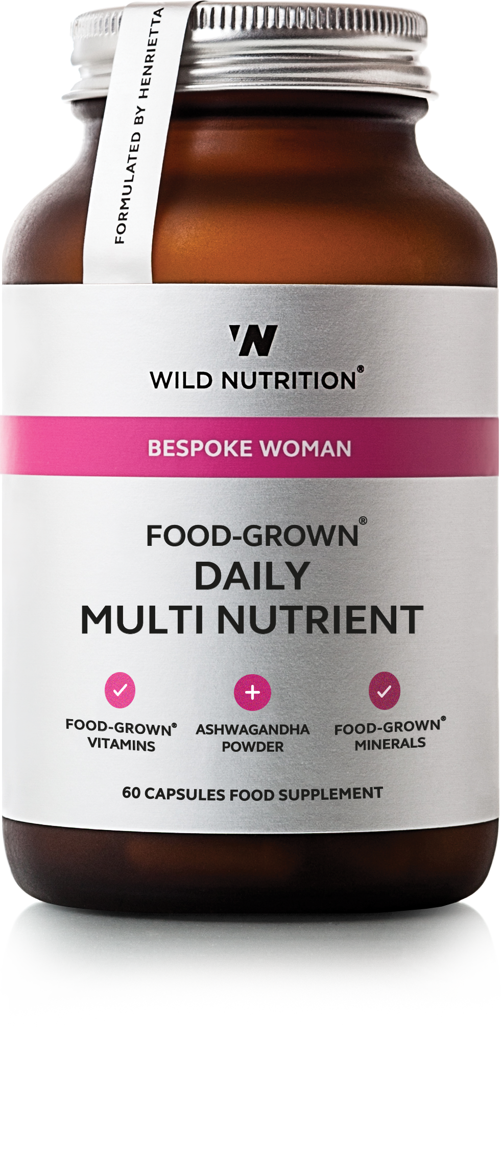 Wild Nutrition Daily Multi Nutrient 60 caps