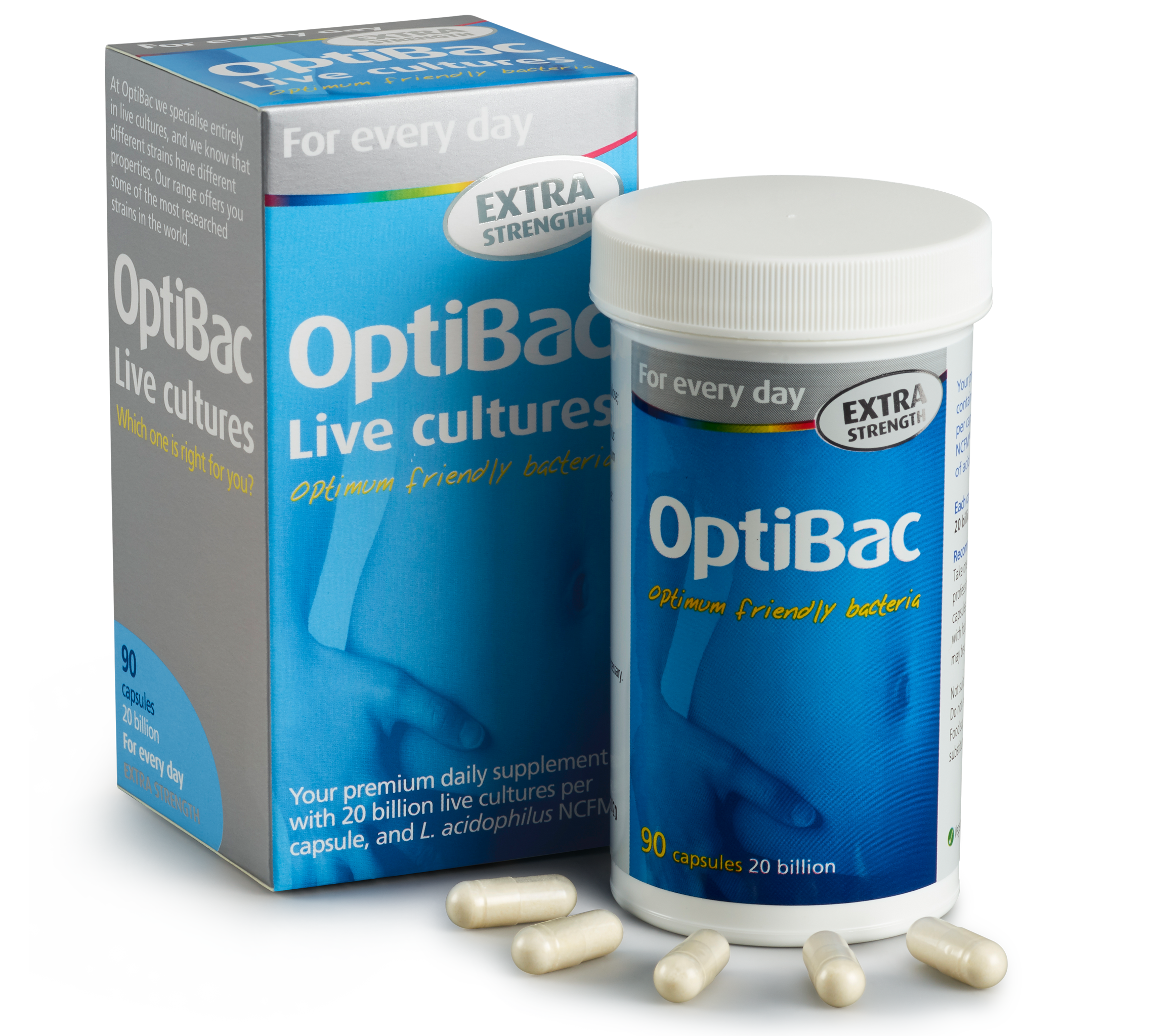 Optibac - For every day EXTRA Strength 30caps