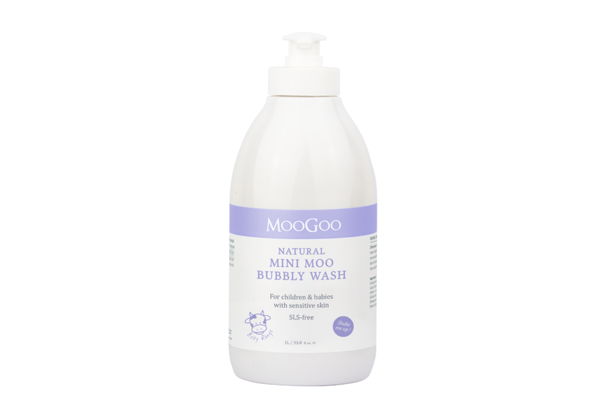 MooGoo bubbly wash 500 ml