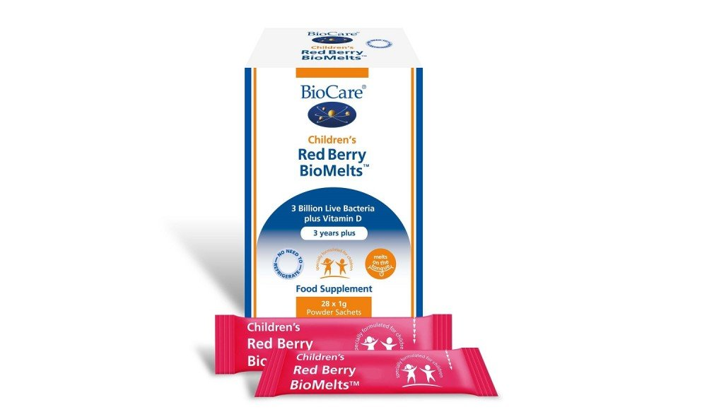 Children's Red Berry BioMelts - 28 Sachets