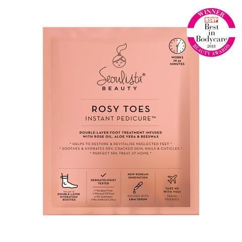 Seoulista Rosy Toes Instant Pedicure™