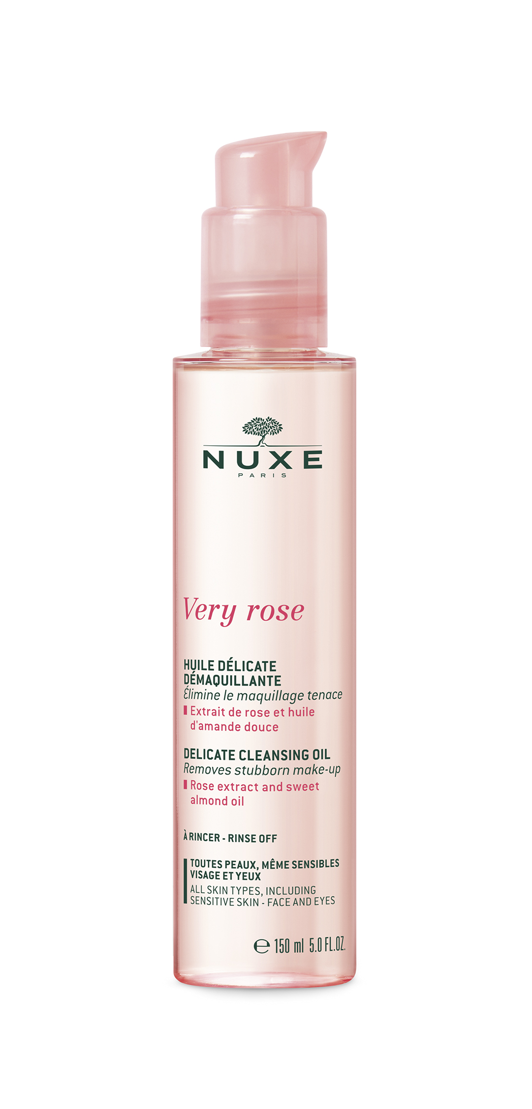 Nuxe Delicate Cleansing oil 150 ml