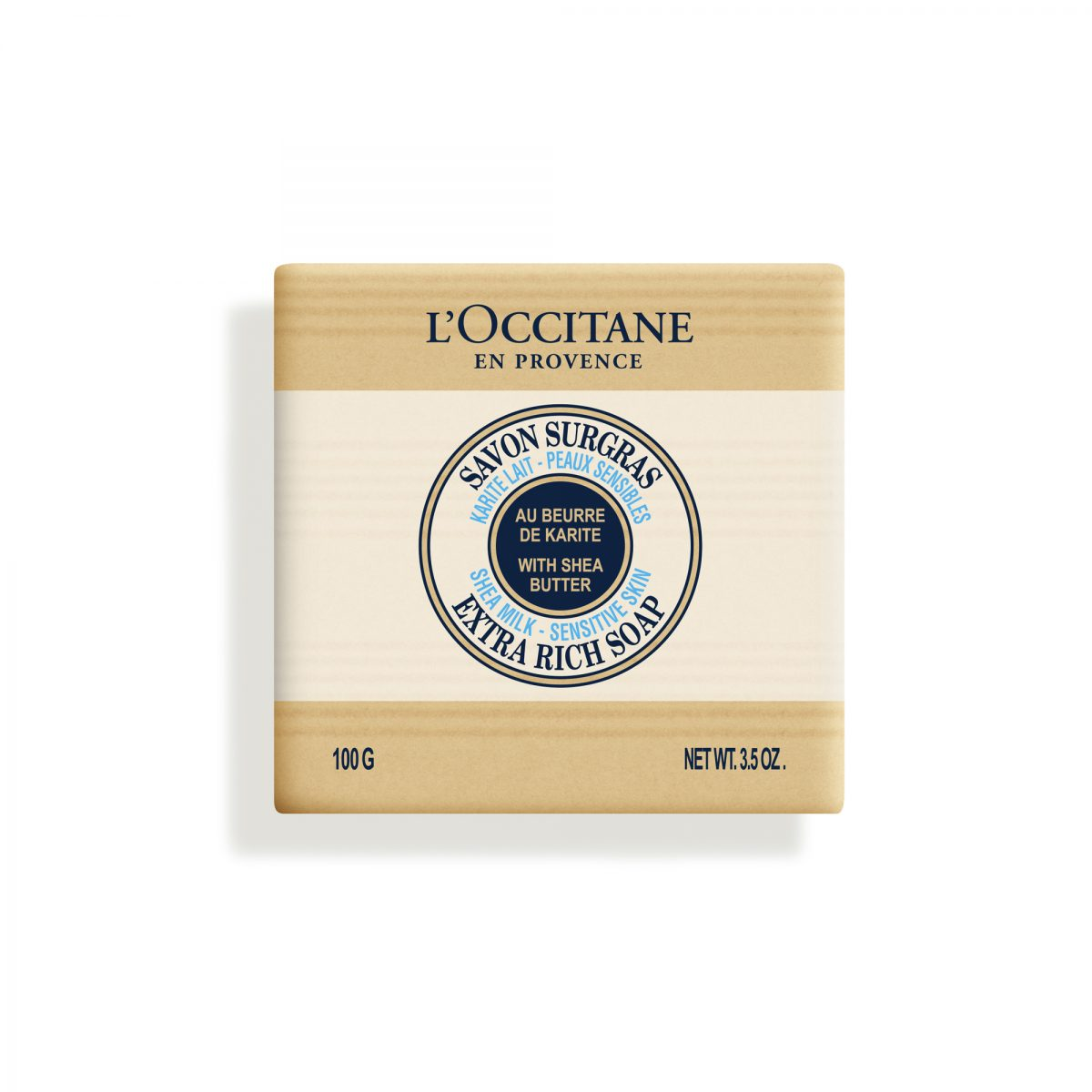 Loccitane Shea Milk Sensitive Skin Extra Rich Soap 100 g