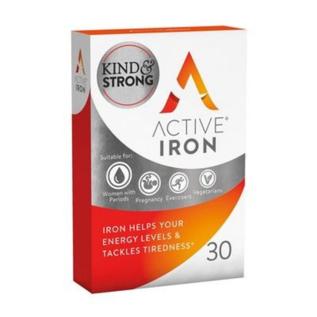Active Iron 30 Capsule Pack