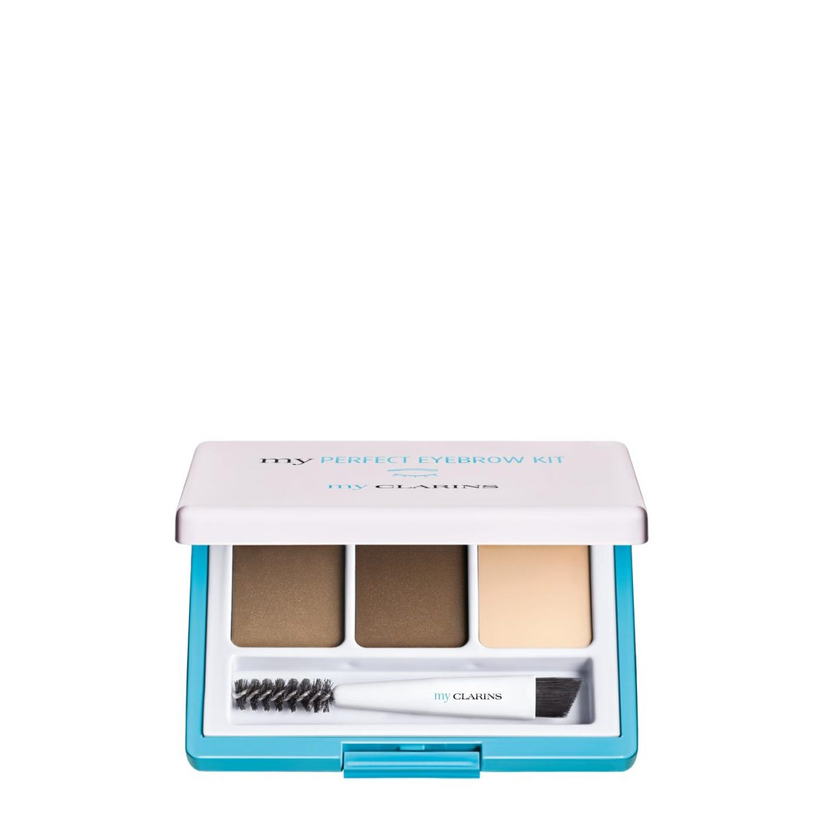 Clarins my PERFECT EYEBROW KIT Shade-01 light to medium